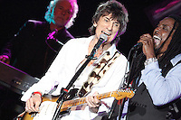 Ronnie Wood performing his only solo concert in 2012 in the USA at the Golden Nugget Casino in Atlantic City, New Jersey on April 21, 2012  © Star Shooter / MediaPunchInc