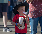 Fans during the Reno Rodeo in Reno, Nevada on Saturday, June 23, 2018.