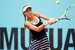 Sorana Cirstea, Roumania, during Madrid Open Tennis 2016 match.May, 5, 2016.(ALTERPHOTOS/Acero)