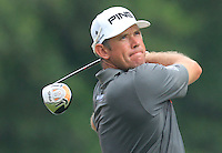 Lee Westwood (ENG) on the 7th tee during Round 3 of the CIMB Classic in the Kuala Lumpur Golf & Country Club on Saturday 1st November 2014.<br /> Picture:  Thos Caffrey / www.golffile.ie