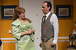 """Estrella Blanco and Victor Benedé at """"Usted puede ser un asesino"""" Theater play in Muñoz Seca Theater, Madrid, Spain, September 07, 2015. <br /> (ALTERPHOTOS/BorjaB.Hojas)"""