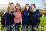 TY students from Pres Tralee, Katie Enright, Jessie O'Doherty, Mary Ann Flemming and Caoimhe Leahy attending the Transition Year Students Day in the Ballyroe Heights Hotel on Tuesday.