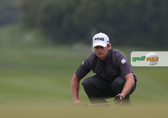 Tom Lewis (ENG) fell behind with a 74 during Round Three of the 2014 Volvo China Open, Genzon Golf Club, Shenzhen, China. Picture:  David Lloyd / www.golffile.ie