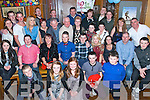 Friends Enda and Tommy O'Sullivan from Kilcummin (seated in the centre) celebrated their 21st Birthdays with a joint party in Courtney's Bar Killarney on Saturday 21st December.