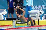 Wales Xavier Castelli during the final of the 50m Backstroke <br /> <br /> *This image must be credited to Ian Cook Sportingwales and can only be used in conjunction with this event only*<br /> <br /> 21st Commonwealth Games - Swimming -  Day 4 - 08\04\2018 - Gold Coast Optus Aquatic centre - Gold Coast City - Australia