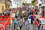 Just over 170 Chaplin's took to the streets of Waterville on Sunday in an attempt to make it into the Guinness Book of Records, falling short in numbers by 70, but there's always next year!!
