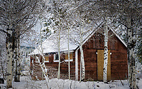Once a part of the Hilltop Lodge in Truckee, CA.