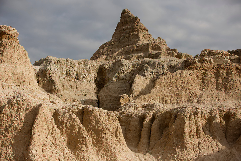 Rock formations are pictured in Badlands National Park, South Dakota on Saturday, May 20, 2017. (Photo by James Brosher)