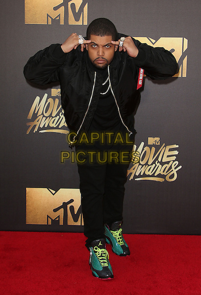 09 April 2016 - Burbank, California - O'Shea Jackson Jr.. 2016 MTV Movie Awards held at Warner Bros. Studios. <br /> CAP/ADM/SAM<br /> &copy;SAM/ADM/Capital Pictures