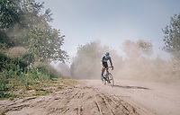 kicking up some dust<br /> <br /> 92nd Schaal Sels 2017 <br /> 1 Day Race: Merksem &gt; Merksem (188km)