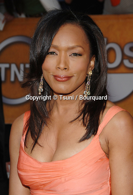 Angela Bassett arriving at the 12th Annual Screen Actors Guild Awards® at the Shrine Auditorium In Los Angeles, Sunday January 29, 2006