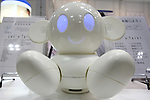 July 30, 2010 - Tokyo, Japan - The Raytron's communication robot 'Chapit' is displayed during Robotech, at Tokyo Big Sight, Japan, on July 30, 2010. The exhibition on the service robot fabrication techniques promotes technology exchange and cooperation.