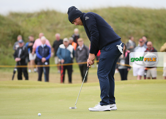 Luca Cianchetti (AM-ITA) during Thursday's Round One at The 146th Open played at Royal Birkdale, Southport, England.  20/07/2017. Picture: David Lloyd | Golffile.<br /> <br /> Images must display mandatory copyright credit - (Copyright: David Lloyd | Golffile).