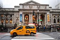 NOVA YORK, EUA, 21.12.2018 - TURISMO-EUA - Vista da Biblioteca Pública na ilha da Manhattan na cidade de Nova York nesta sexta-feira, 21. (Foto: William Volcov/Brazil Photo Press)