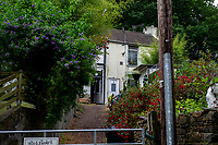 Pictured: A general view of Earlswood Cottages, Neath, Wales, UK. Thursday 13 June 2019<br /> Re: A father and son are due to be sentenced for keeping a man as a slave for two years by Swansea Crown Court, Wales, UK.<br /> Anthony Howard Baker, 49, and his son Harvey Baker, 19, from Jersey Marine, near Neath, were also jointly charged with six counts of causing actual bodily harm.