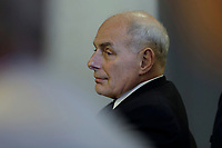 White House Chief of Staff John Kelly attends the 2018 Hurricane Briefing at the Federal Emergency Management Agency Headquarters on June 6, 2018 in Washington, DC. <br /> <br /> CAP/MPI/RS<br /> &copy;RS/MPI/Capital Pictures