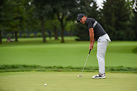 Brooks Koepka (USA) watches his putt on 11 during Rd4 of the 2019 BMW Championship, Medinah Golf Club, Chicago, Illinois, USA. 8/18/2019.<br /> Picture Ken Murray / Golffile.ie<br /> <br /> All photo usage must carry mandatory copyright credit (© Golffile | Ken Murray)