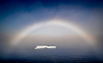 Greenland Sea, fog bow or white rainbow