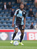 Janoi Donacien of Wycombe Wanderers during the Sky Bet League 2 match between Wycombe Wanderers and Hartlepool United at Adams Park, High Wycombe, England on 5 September 2015. Photo by Andy Rowland.