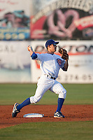 April 12th 2010: David Macias of the Daytona Cubs, Florida State League High-A affiliate of the Chicago Cubs in a game against the Dunedin Blue Jays Florida State League High-A affiliate of the Toronto Blue Jays at Jackie Robinson Ballpark in Daytona Beach, FL (Photo By Scott Jontes/Four Seam Images)