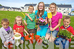 Owen to finish.FLOWER POWER: Planting the flowers at Banshagh estate in Killorglin on Saturday morning, l-r: