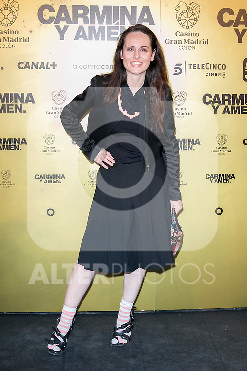 "Spanish designer Ana Lockin attend the Premiere of the movie ""Carmina y Amen"" at the Callao Cinema in Madrid, Spain. April 28, 2014. (ALTERPHOTOS/Carlos Dafonte)"