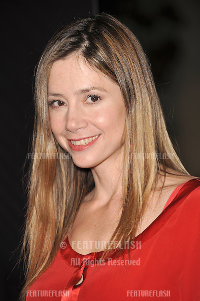 "Mira Sorvino at industry screening of ""Sweeney Todd the Demon Barber of Fleet Street"" at Paramount Studios, Hollywood..December 5, 2007  Los Angeles, CA.Picture: Paul Smith / Featureflash"