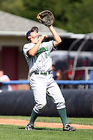 September 1 2008:  First baseman Ben Lasater of the Jamestown Jammers, Class-A affiliate of the Florida Marlins, during a game at Dwyer Stadium in Batavia, NY.  Photo by:  Mike Janes/Four Seam Images