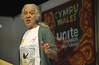El Sueno Existe Festival<br /> Machynlleth<br /> Wales<br /> Our Future, Our Planet Our Dream<br /> Ivan Monckton, from the trade union UNITE.