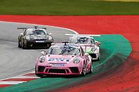 12th July 2020; Spielberg, Austria;  Porsche Mobil 1 Supercup race day;  1 Jaxon Evans NZ, BWT Lechner Racing held at Spielberg Austria