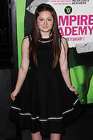 "LOS ANGELES, CA - FEBRUARY 04: Emma Kenney at the Los Angeles Premiere Of The Weinstein Company's ""Vampire Academy"" held at Regal Cinemas L.A. Live on February 4, 2014 in Los Angeles, California. (Photo by Xavier Collin/Celebrity Monitor)"