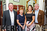 Nano Nagle Social: Attending the annual Nano Nagle School's social at the Listowel Arms Hotel on Friday night last were Maurice, Barbara & Suzanne Walsh & Seamus Garry, Listowel.