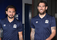 Blackburn Rovers' Bradley Dack and Blackburn Rovers' Danny Graham<br /> <br /> Photographer Rachel Holborn/CameraSport<br /> <br /> The EFL Sky Bet Championship - Ipswich Town v Blackburn Rovers - Saturday 4th August 2018 - Portman Road - Ipswich<br /> <br /> World Copyright &copy; 2018 CameraSport. All rights reserved. 43 Linden Ave. Countesthorpe. Leicester. England. LE8 5PG - Tel: +44 (0) 116 277 4147 - admin@camerasport.com - www.camerasport.com