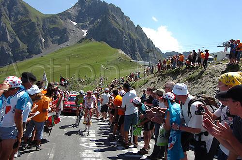 2009, Tour de France, tappa 09 Saint Gaudens - Tarbes, Cofidis le Credit en Ligne, Kern Christophe, Tourmalet July 11th 2009.  Stage 9 (Photo: Stefano Sirotti/ActionPlus)