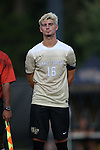 10 September 2016: Wake Forest's Ian Harkes. The Wake Forest University Demon Deacons hosted the University of Virginia Cavaliers in a 2016 NCAA Division I Men's Soccer match. Wake Forest won the game 1-0 in sudden death overtime.