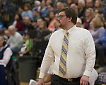 Reed  head coach Keegan Bosier during the class 4A Northern Regional Boys Basketball Championship game at Spanish Springs High School in Sparks, Nev., Saturday, Feb. 22, 2020.