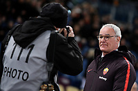 Claudio Ranieri coach of As Roma <br /> Roma 11-3-2019 Stadio Olimpico Football Serie A 2018/2019 AS Roma - Empoli<br /> Foto Andrea Staccioli / Insidefoto