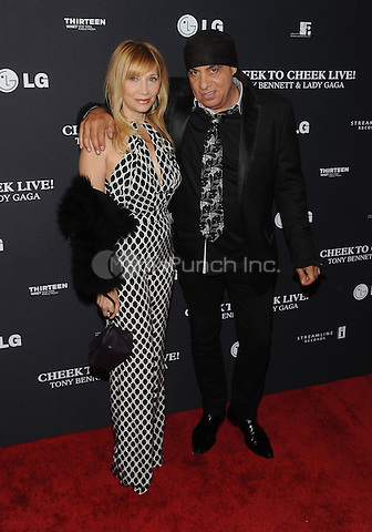 New York,NY-JULY 28: Maureen Van Zandt, Steven Van Zandt attend 'Cheek To Cheek' taping at at Jazz at Lincoln Center on July 28, 2014 in New York City on July 27 , 2014.  Credit: John Palmer/MediaPunch