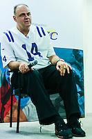 SÃO PAULO, SP, 29.10.2015 - SABATINA-FOLHA - Brasileiro Oscar Schmidt ex jogador de Basquete durante sabatina da Folha de São Paulo na sede do jornal no centro de São Paulo nesta quinta-feira, 29. (Foto: Vanessa Carvalho/Brazil Photo Press)