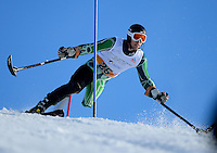 Cameron Rahles-Rahbula (AUS)<br /> Gold medalist<br /> Skiing - APC / Slalom<br /> IPC Alpine Skiing World Cup<br /> Thredbo Resort NSW<br /> Wednesday 4th September 2013<br /> © Sport the library / Jeff Crow