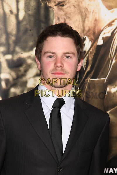 IAN MEADOWS.Arrivals to the Los Angeles Premiere of the HBO Miniseries The Pacific at Grauman's Chinese Theatre, Hollywood, CA, USA, February 24th, 2010. .portrait headshot black tie beard facial hair white shirt .CAP/CEL.©CelPh/Capital Pictures.