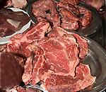 Raw Meat, Tra II Ciak Restaurant, Rome, Italy