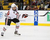 Joe Vitale (NU - 26) - The Harvard University Crimson defeated the Northeastern University Huskies 3-1 on Monday, February 4, 2008, in the opening game of the 2008 Beanpot at TD Banknorth Garden in Boston, Massachusetts.