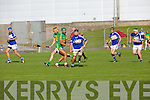 In Action Lixnaw Paul Galvin and St. Brendans Cian Hussey at the  Garveys Supervalu Senior Hurling Championship Semi Final – Replay Lixnaw V St Brendans  at Austin Stack park on Saturday