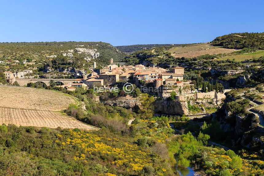 France, H&eacute;rault (34), Minerve, labellis&eacute; Les Plus Beaux Villages de France, // France, Herault, Minerve, labelled Les Plus Beaux Villages de France (The Most beautiful<br /> Villages of France)