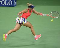 FLUSHING NY- SEPTEMBER 08: Angelique Kerber Vs Caroline Wozniacki on Arthur Ashe Stadium at the USTA Billie Jean King National Tennis Center on September 8, 2016 in Flushing Queens. Credit: mpi04/MediaPunch