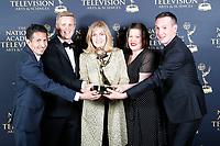 PASADENA - May 5: Family Feud in the press room at the 46th Daytime Emmy Awards Gala at the Pasadena Civic Center on May 5, 2019 in Pasadena, California
