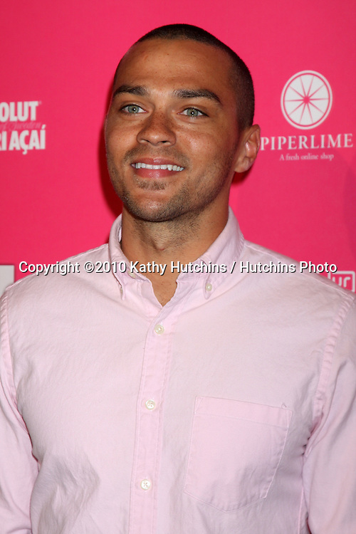 Jesse Williams.arrives at the US Weekly Hot Hollywood Party 2010.Drai's at the W Hotel Hollywood.Los Angeles, CA.April 22, 2010.©2010 Kathy Hutchins / Hutchins Photo...