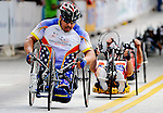 May 28, 2012: Wounded Warrior, Joseph Beimfohr, competes in the 2012 U.S. Handcycling Criterium National Championships, Greenville, SC.