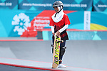 Bunga Nyimas (INA), <br /> AUGUST 29, 2018 - Skateboarding : <br /> Women's Park  Final<br /> at Jakabaring Sport Center Skatepark <br /> during the 2018 Jakarta Palembang Asian Games <br /> in Palembang, Indonesia. <br /> (Photo by Yohei Osada/AFLO SPORT)